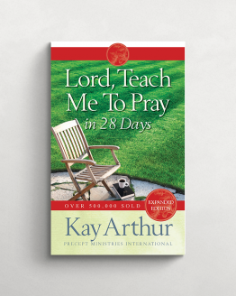Lord teach me to pray in 28 days cover 21