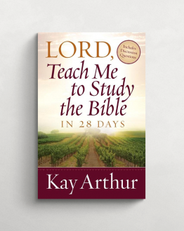 Lord teach me to study the Bible in 28 days cover 21